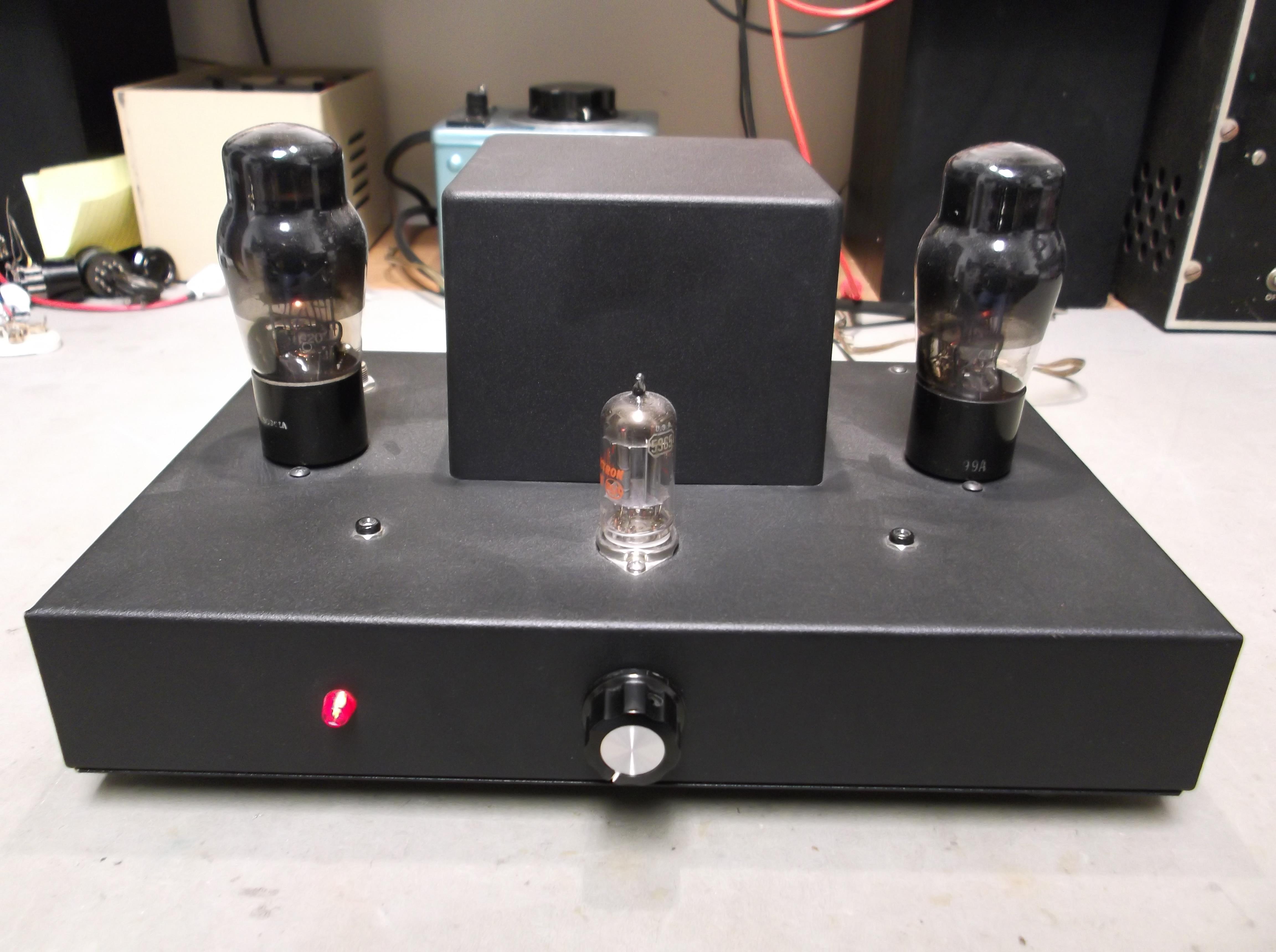 Dscf on Tube Amplifier Schematics