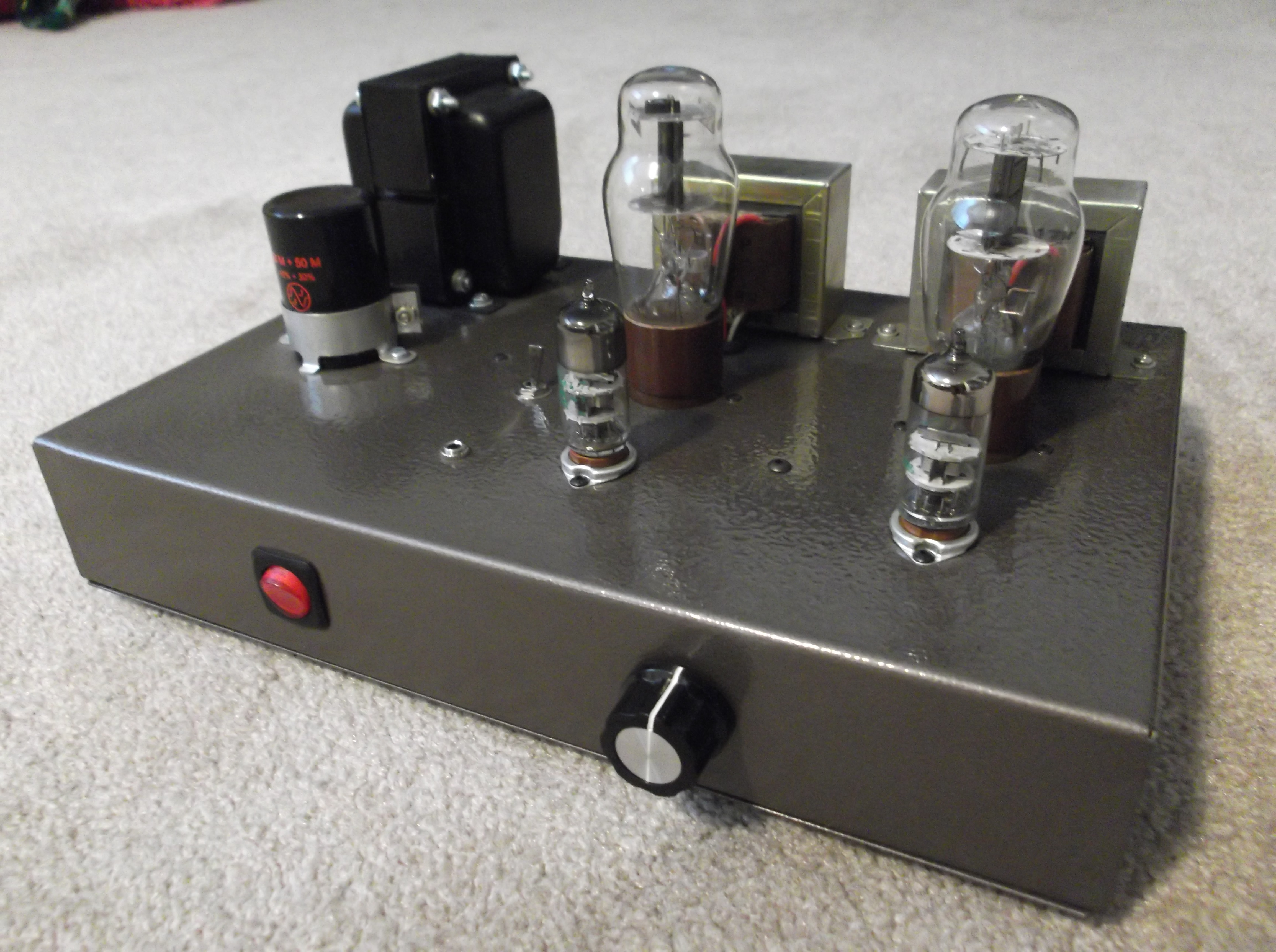 "Single-Ended 1626 ""Darling"" Amplifier 