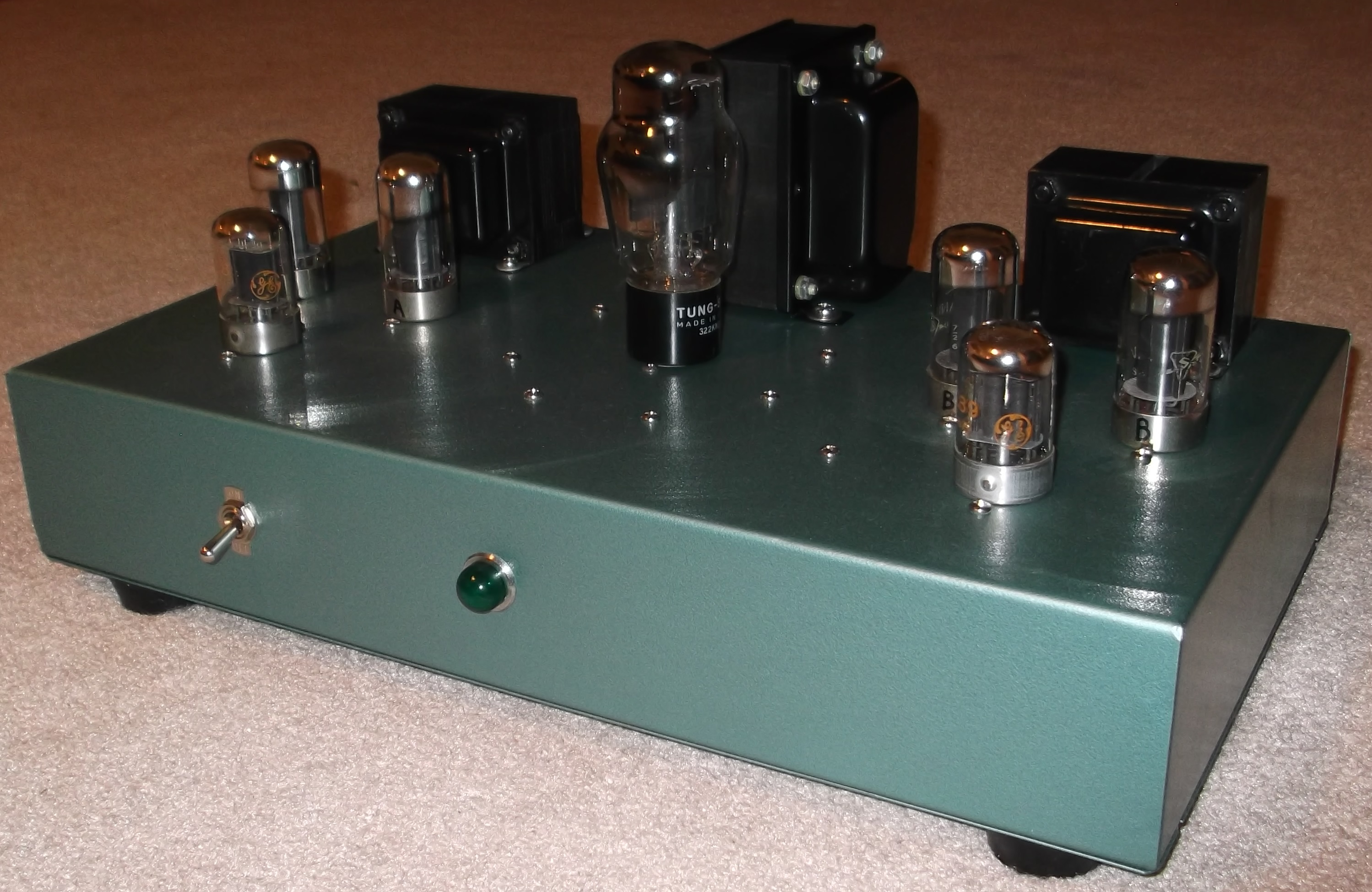 Push Pull 7c5 Amplifier In Vintage Style Evil Science Audio 10w 6l6