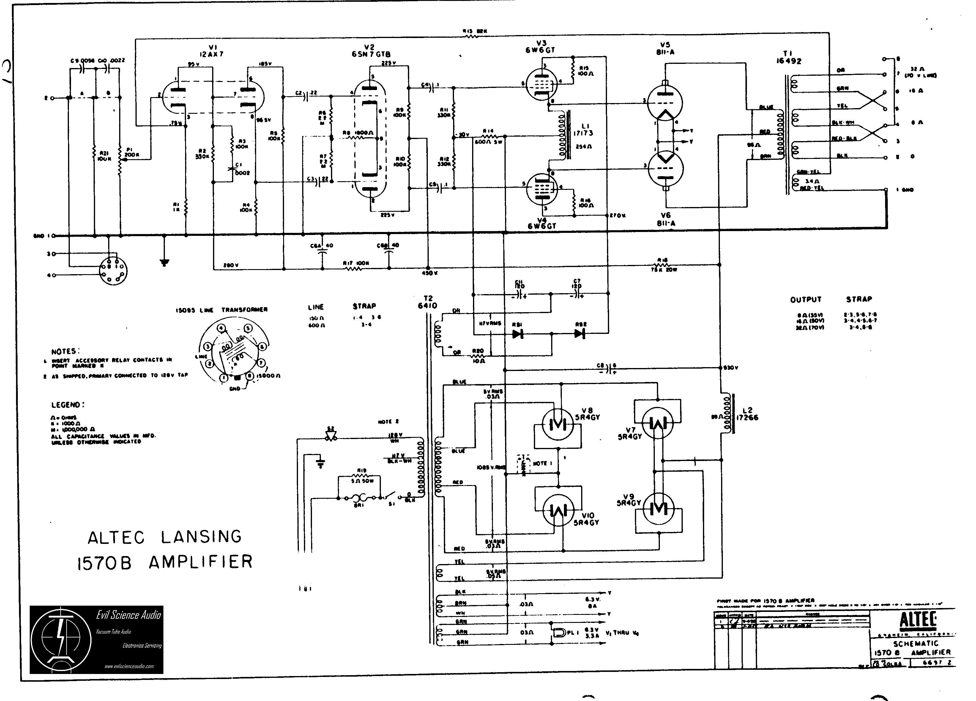 Wiring Diagram For Computer Speakers Schematic Diagrams 70 Volt Altec Lansing Speaker Schematics Data U2022 System