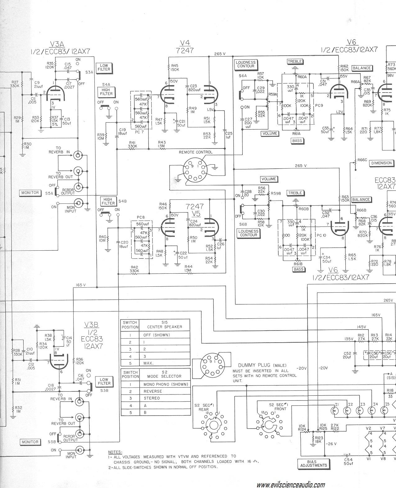 Fisher X Schematic P on Tube Amplifier Schematics