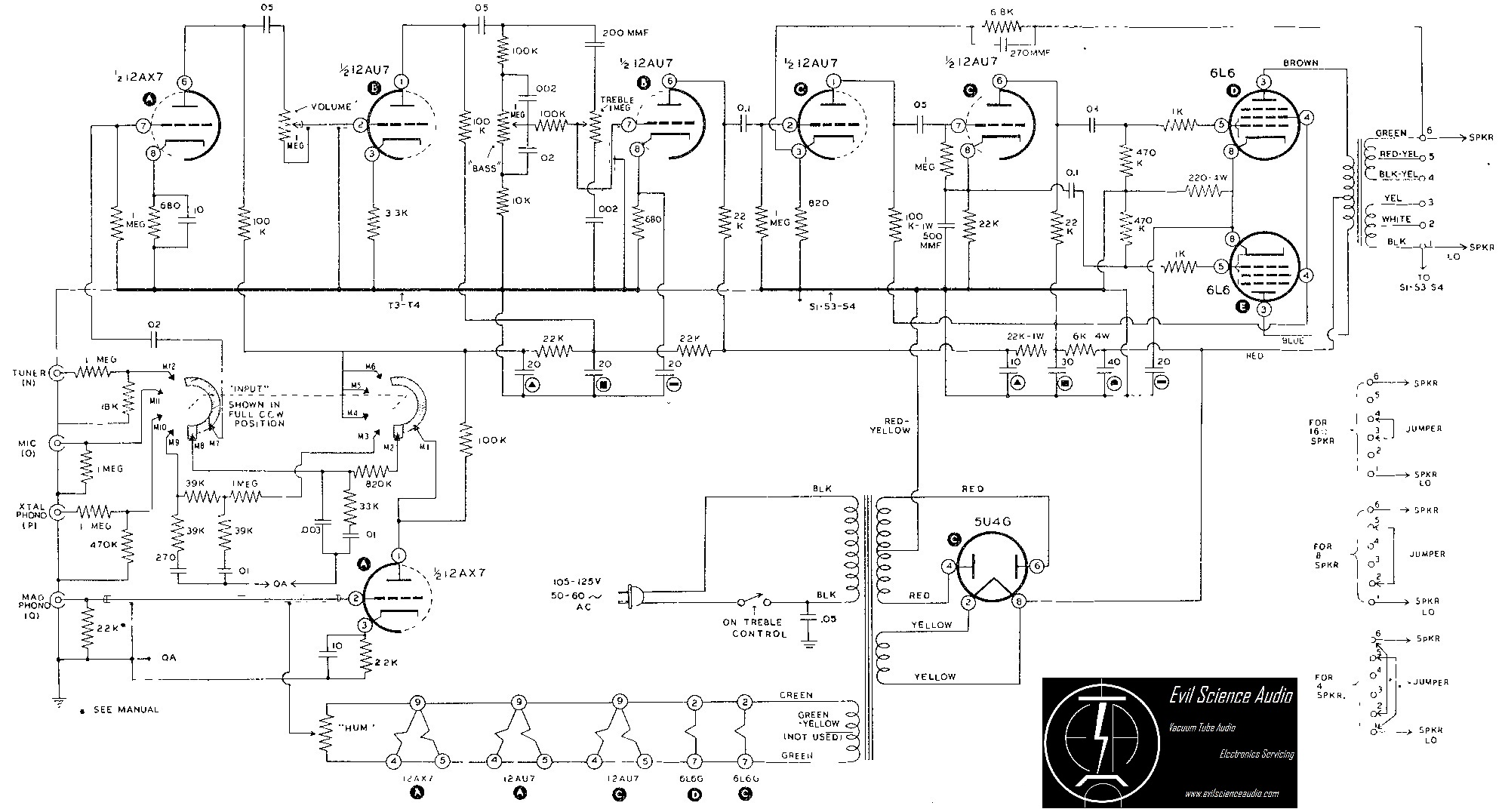HiFi    Schematics      Evil Science Audio