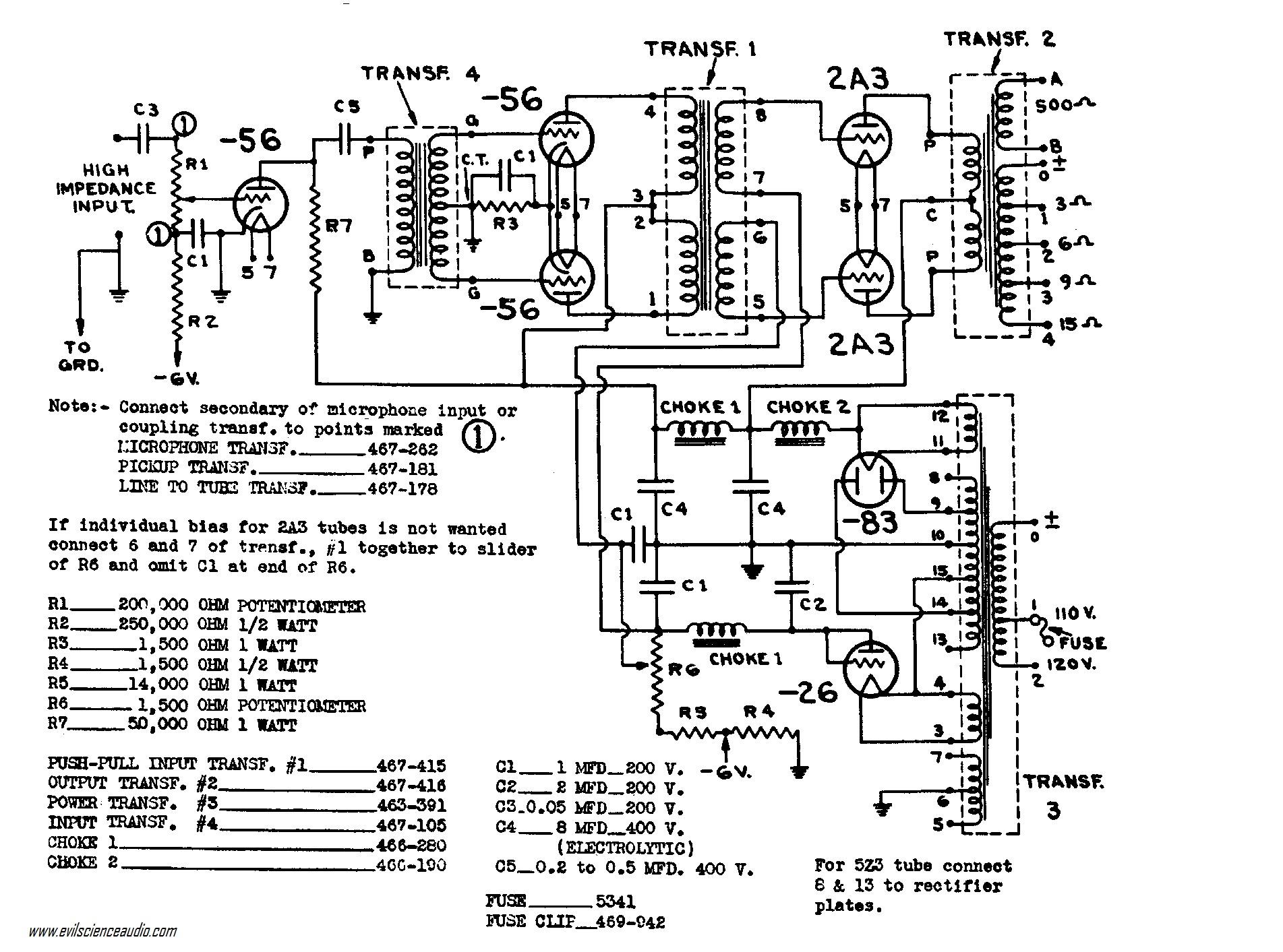 2a3 se schematic