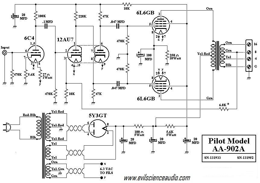 push pull schematic magnavox car wiring diagrams explained \u2022 fisher tube tuner preamp schematic hi fi schematics evil science audio rh evilscienceaudio com diy amplifier schematic push pull tube amplifier circuit